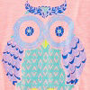 Vacation Pink Owl