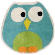 Owls Bath Rug
