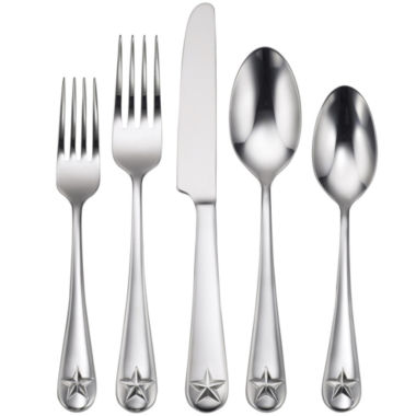 jcpenney.com | Oneida® Tindra 45-pc. Flatware Set