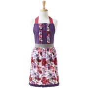 Ladelle® Pansy Floral Apron
