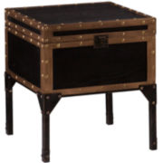 Randolph Travel Trunk End Table