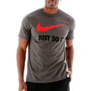 Nike® Just Do It Swoosh Tee