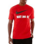 Nike® Just Do It Swoosh Tee