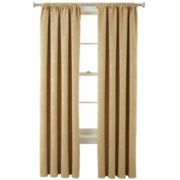 Royal Velvet® Beckley Blackout Rod-Pocket Curtain Panel