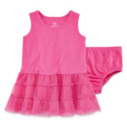 Okie Dokie® Tutu Dress - Baby Girls newborn-24m