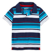 Arizona Striped Polo Shirt - Toddler Boys 2t-5t