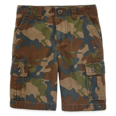 jcpenney.com | Arizona Twill Cargo Shorts - Preschool Boys 4-7