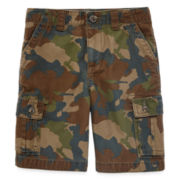 Arizona Twill Cargo Shorts - Preschool Boys 4-7