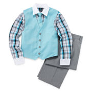 Steve Harvey® 4-pc. Gradient Vest Set - Boys 8-20