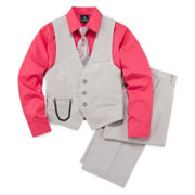 Steve Harvey® 4-pc. Suit Set - Preschool Boys 4-7