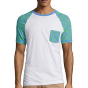 Arizona Printed Raglan T-Shirt