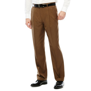 jcpenney.com | Stafford® Travel Year-Round Pleated Pants