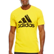 adidas® Short-Sleeve Logo T-Shirt