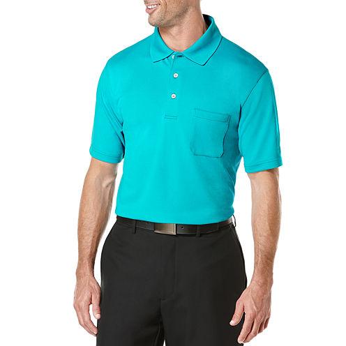 PGA TOUR® Solid Pocket Polo