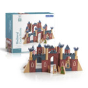 Guidecraft Medieval Castle Building Blocks 61-pc. Set