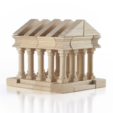 jcpenney.com | Guidecraft Greek 40-pc. Wooden Building Block Toy Set