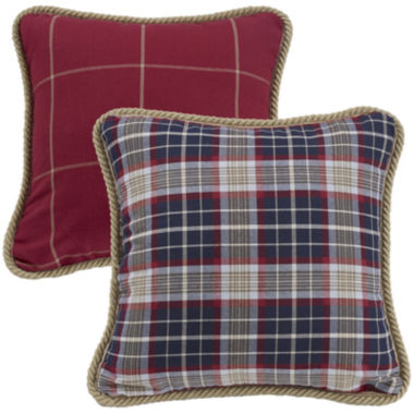 jcpenney.com | HiEnd Accents South Haven Reversible Plaid Decorative Pillow
