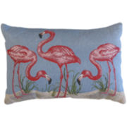 Park B. Smith® Flamingo Tapestry Decorative Pillow