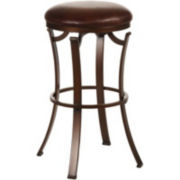 Kelford Backless Swivel Barstool