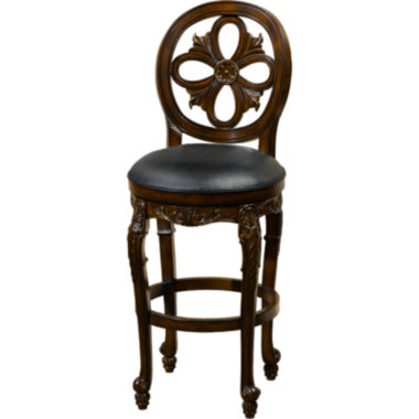 jcpenney.com | Rosalee Swivel Barstool with Back