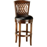 Vienna Swivel Barstool with Back