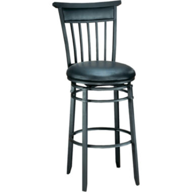 jcpenney.com | Cottage Swivel Barstool with Back