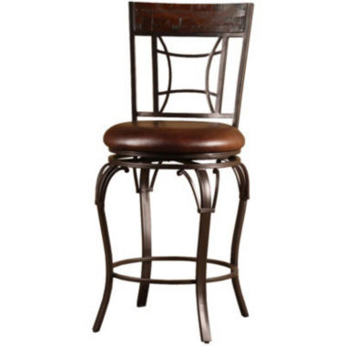 jcpenney.com | Granada Swivel Counter-Height Barstool