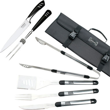 jcpenney.com | Top Chef® 7-pc. Stainless Steel Grilling & Carving Knife Set