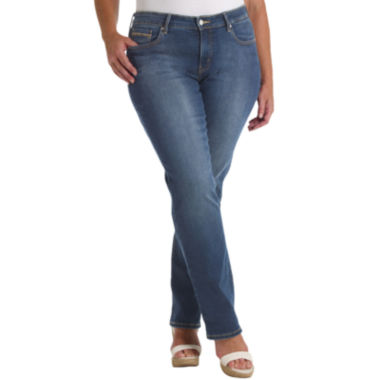 jcpenney.com | Levi's® 512™ Perfectly Shaping Straight-Leg Jeans - Plus