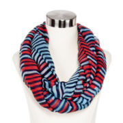 Olsenboye® Stacked Striped Infinity Scarf