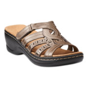 Clarks® Lexi Rye Slide Sandals