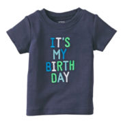 Carter's® Birthday Tee - Boys newborn-24m