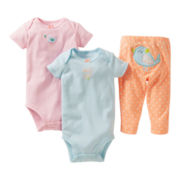 Carter's® 3-pc. Birdie Set - Girls preemie