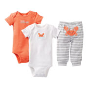 Carter's® 3-pc. Crab Set - Boys preemie