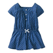 Carter's® Blue Print Tunic - Girls 2t-4t