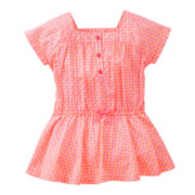 Carter's® Pink and Orange Print Tunic - Girls 2t-4t