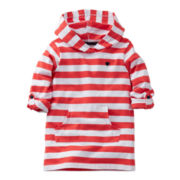 Carter's® Red Striped Hoodie - Girls 5-6x