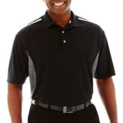 PGA TOUR® Pro Series Embossed Colorblock Polo Shirt-Big & Tall