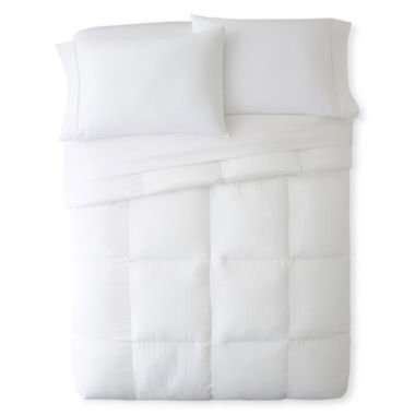 jcpenney.com | Royal Velvet® MicroGel™ Down-Alternative Comforter