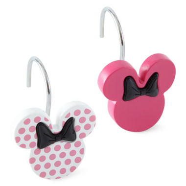 jcpenney.com | Disney Minnie Mouse Shower Curtain Hooks