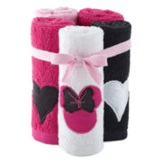 Disney Minnie Mouse 5-pk. Washcloth Set