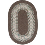 Oak Valley Reversible Braided Oval Rugs