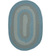 Covington Reversible Braided Indoor/Outdoor Oval Rugs