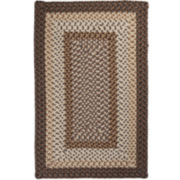 Sausalito Reversible Braided Indoor/Outdoor Rectangular Rugs