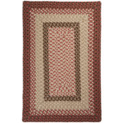 Sausalito Reversible Braided Indoor/Outdoor Rectangular Rug