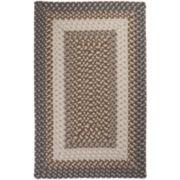Sausalito Reversible Braided Indoor/Outdoor Rectangular Rugs