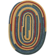 Garden Grove Reversible Braided Oval Rug