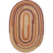 Garden Grove Reversible Braided Oval Rug