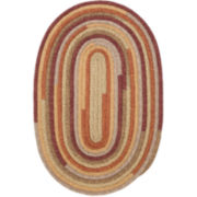 Garden Grove Reversible Braided Oval Rugs