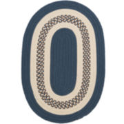 Lighthouse Reversible Braided Indoor/Outdoor Oval Rugs